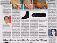 Wenn der Schuh drückt und schmerzt (Tiroler Tageszeitung)